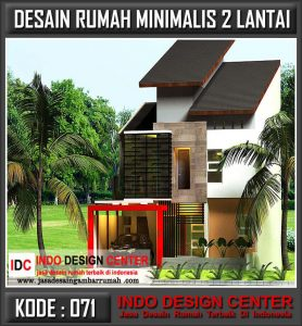 kumpulan desain rumah minimalis 2 lantai - jasa desain
