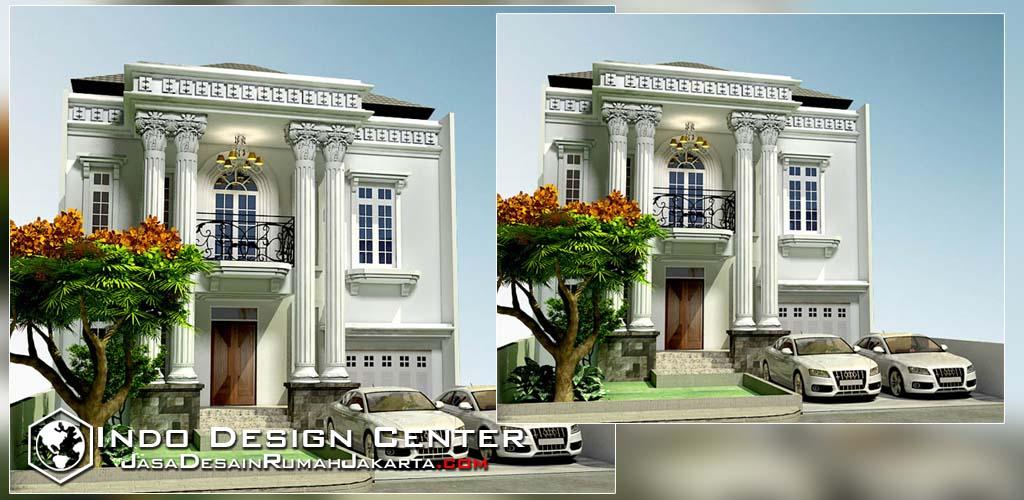 desain rumah klasik mewah 2 lantai jasa desain rumah jakarta
