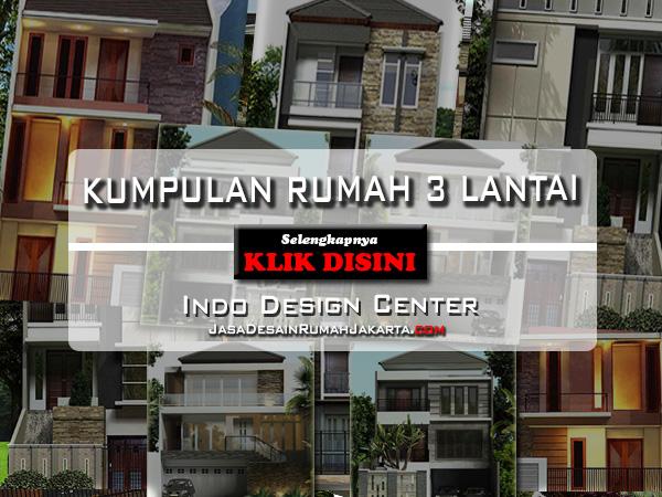 gambar rumah tingkat 3 jasa arsitek jakarta indo