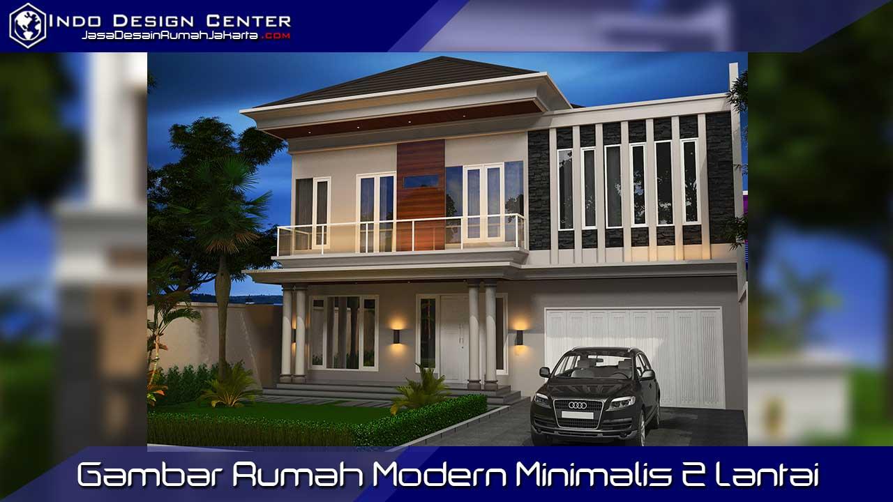 gambar modern minimalis 2 lantai