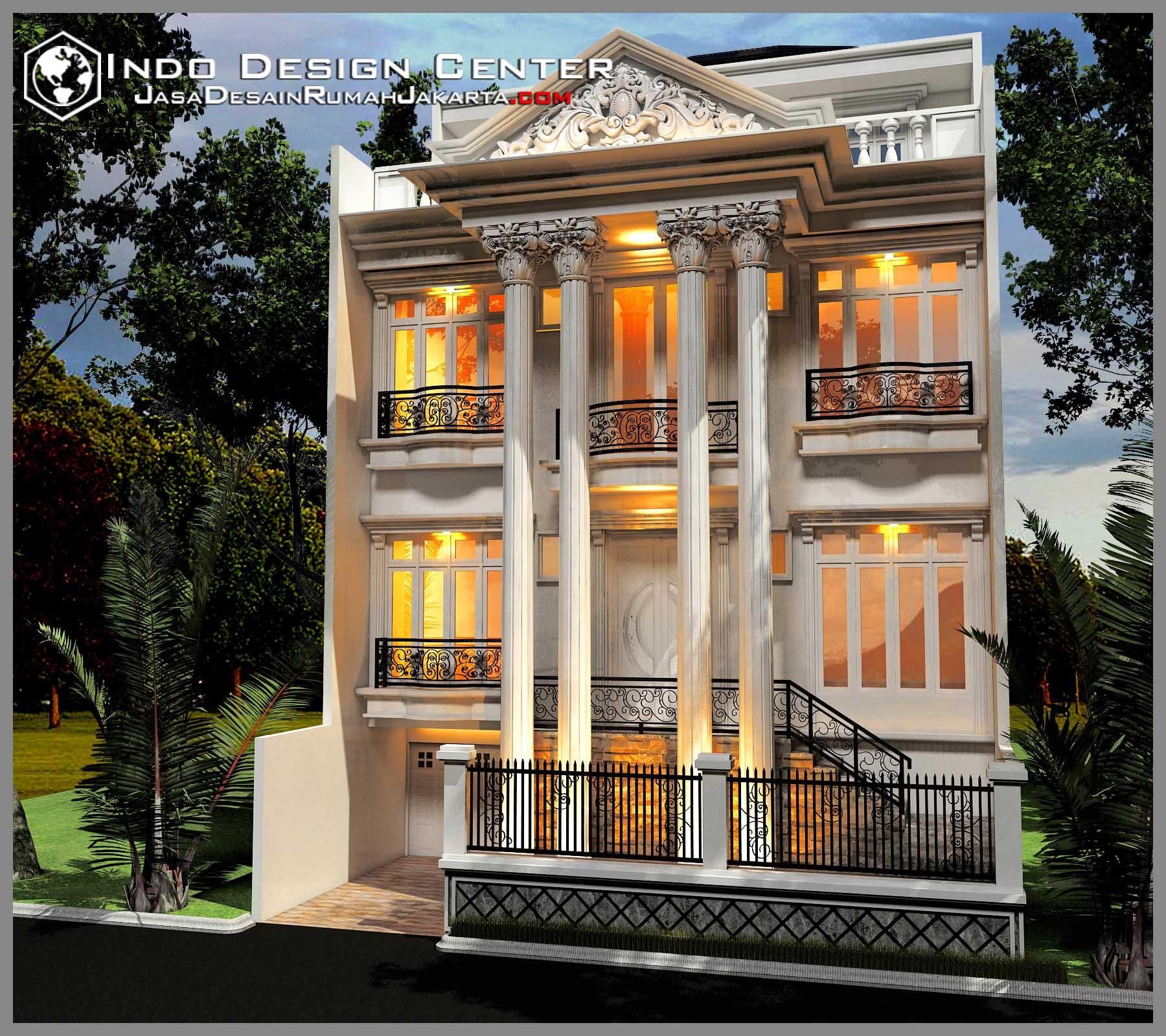 Jasa Desain Rumah: Gambar Rumah Mewah Mediterania, Jasa Desain Rumah Jakarta