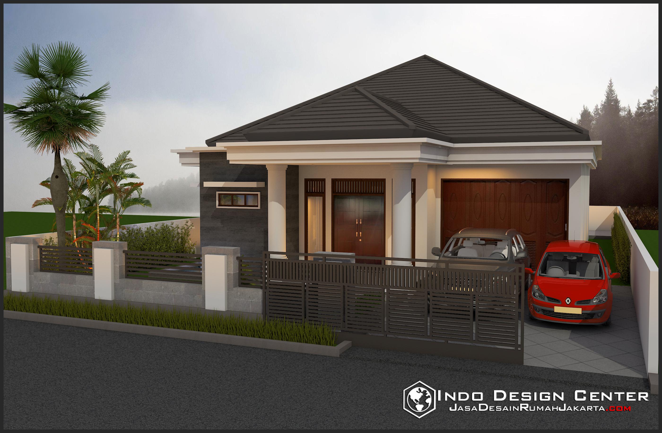 gambar rumah sederhana bapak ginting jasa desain rumah