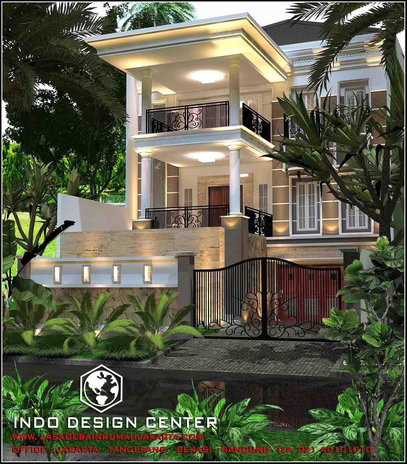 jasa arsitek rumah di jakarta desain rumah bapak mulyanto