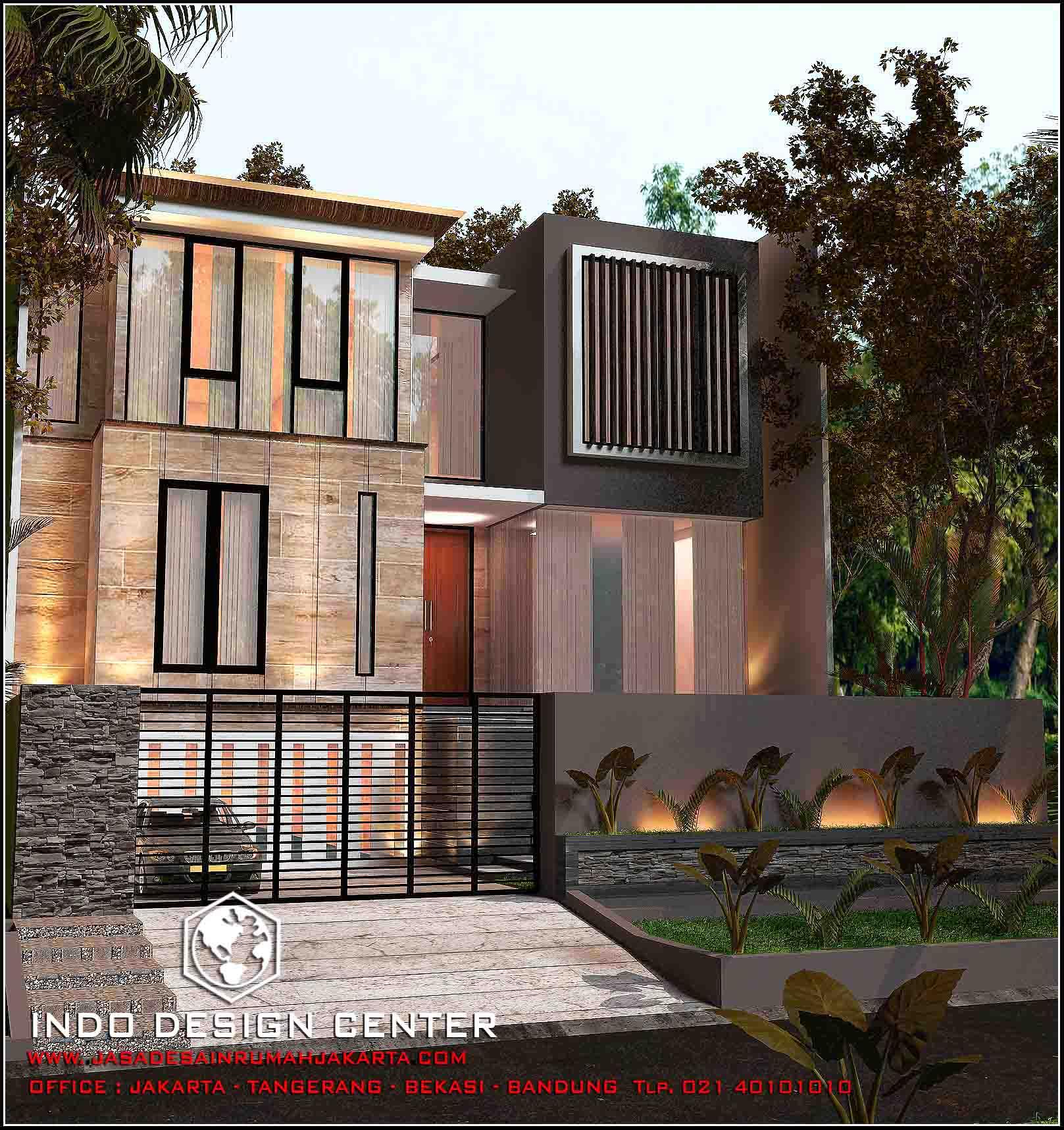 rumah minimalis 2 lantai modern 2017 jasa desain rumah